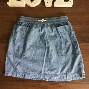 Girls Jean skirt by J.Crew